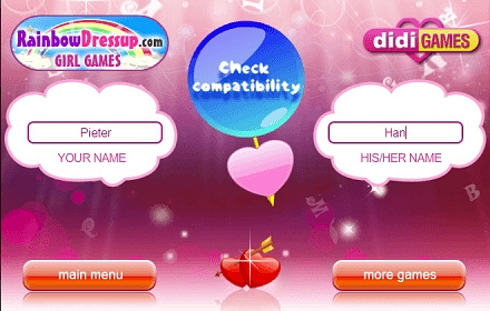 Love test name compatibility